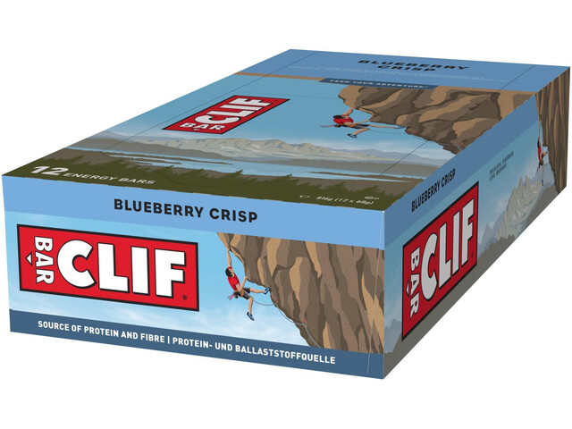 CLIF Bar Energy Riegel Box 12x68g Blueberry Crisp